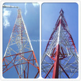 Производитель предлагают трехстороннего микроволновой связи стали угла поворота антенны решетчатые башни
