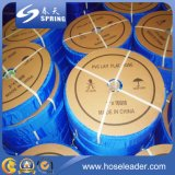Превосходный шланг разрядки качества положенный PVC плоский для полива