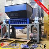 Двойной вал Бумагорезательная машина для измельчения шины пластиковые стекла резиновые
