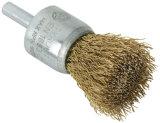 Cepillo del extremo de la potencia del alambre de acero