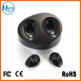Écouteur stéréo sans fil de Bluetooth de jumeaux avec 2 bourgeons et cloque de remplissage