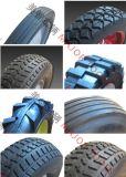 플라스틱 변죽을%s 가진 일련의 단단한 고무 바퀴