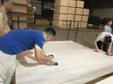 건축재료를 위한 3.2mm/17mm 버마 티크 또는 호두 또는 단풍나무에 의하여 박판으로 만들어지는 MDF