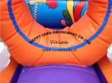 Bouncer gonfiabile della sosta variopinta dell'oceano piccolo