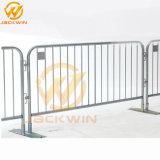 Amovible en acier galvanisé Clôture Barrière de contrôle des foules personnalisé