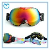 Occhiali di protezione rivestiti personalizzati del pattino di Eyewear di sport del Rainbow per scarsa visibilità