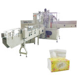 Tissue Packing Machine를 위한 냅킨 Paper Assembly Line