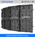 Schermo curvo LED esterno P5.95 per la pubblicità (P4.81, P5.95, P6.25)