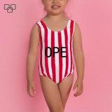 La sublimación de alta calidad a los niños precioso traje de baño Trajes de Baño una pieza.