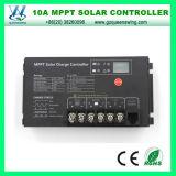 10A MPPT solaire 12/24 V Système de contrôleur de charge solaire d'accueil (QW-MT10A)