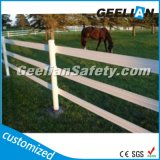 Cerca del caballo PVC Mercado de la UE y EE.UU., 2 Carril cerca del jardín / Rancho Valla / Cerca de la granja