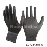 Blanc PU Coated Glove Top Palm Fit PPE sécurité au travail