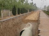 I cilindri di Frpm, fibra di vetro hanno rinforzato i cilindri del mortaio della plastica