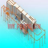Revêtement en poudre électrostatique Hot Vendre Ligne pour profilé en aluminium