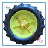 Outil Ferme de 8 pouces roues Pneu en caoutchouc Semi-Pneumatic