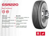 Reifen 13r22.5 des GT-Radial-LKW-Gummireifen-315/80r22.5 Giti