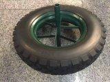 Una rotella pneumatica da 16 pollici per la carriola di modello Wb6400 della Francia