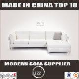 Des meubles 2017 à la maison modernes de cuir sofa en forme de L vers le bas