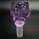 Tazón de fuente de cristal para el tubo que fuma