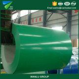 Couleur de haute qualité en usine Sheeti en aluminium à revêtement de bois et de la bobine d'acier galvanisé prélaqué/PPGI