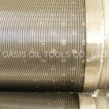 Filtros para pozos de la base del tubo de AISI 316L