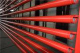 Peint en rouge UL canalisations sprinkleur incendie FM