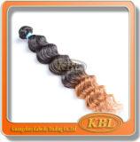 Красивейший Weave волос тона бразильянина 2 цвета