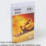 Supports acryliques en plastique d'étalage pour des brochures de la taille A4