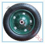 3.25/3.00-8 Roda de borracha pneumática com a borda plástica ou de aço