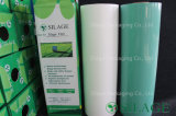 White 750mm X 25mic PE Agricultura Silage Film Bale Wrap para o Chile