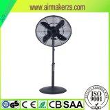 Ventilateur extérieur de porte de /out de ventilateur de stand en métal de 18 pouces
