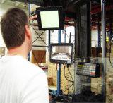 Caméra de magasin d'entrepôt avec moniteur de 7 pouces sans fil et bloc d'alimentation