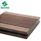 Suelo de bambú al aire libre del color profundo al por mayor con alta calidad