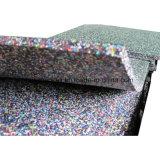 De zeer Veilige Kleurrijke Rubber Gerecycleerde Tegel van de Vloer EPDM