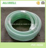Boyau flexible de pipe de tube à décharge de spirale de boyau de l'eau d'aspiration de produits en plastique de PVC