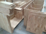 Canapé de salle de bain en bois massif traditionnel 2017 avec évier pour navire simple Ensemble de marbre monté au sol Asv1010