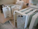Mobilie della cucina di legno solido della noce con il controsoffitto Kc-073 del granito