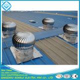 Nessun ventilatore di tetto della turbina di potere per ventilazione
