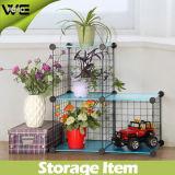DIY Cubo de almacenamiento Estanterías Hierro Metal Rack para Flores