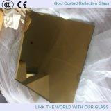 überzogenes reflektierendes Glas des 6mm Gold24k