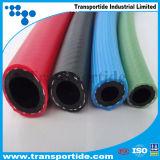 Boyau de jardin coloré à haute pression de PVC de pouce de 1/2