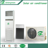 Sistema spaccato solare termico fissato al muro del condizionatore d'aria 5.2kw