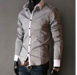 Men's Casual Chemise à manches longues (RTM1325)