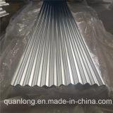 Tôle d'acier ondulée galvanisée plongée chaude