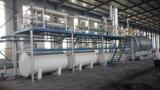 Máquina de uma pirólise de 10 toneladas com dispositivo contínuo de Slage do carbono