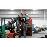 Завод по переработке вторичного сырья покрышки, используемая машина шредера автошины, неныжный шредер покрышки