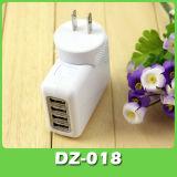 4 порта USB на стене дома AC адаптер зарядного устройства