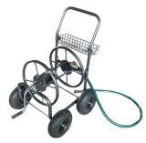 Carrinho de bobina de mangueira de água de 4 rodas para jardim
