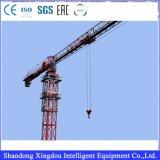 Миниая емкость Qtz80 крана башни поднимаясь