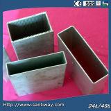 Qualité carrée en aluminium d'exportation de tube